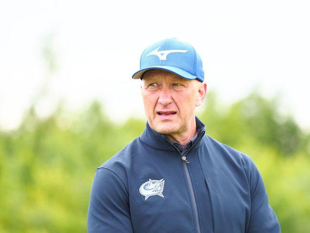 Jarmo Kekäläinen toimii Columbus Blue Jacketsin GM:nä.