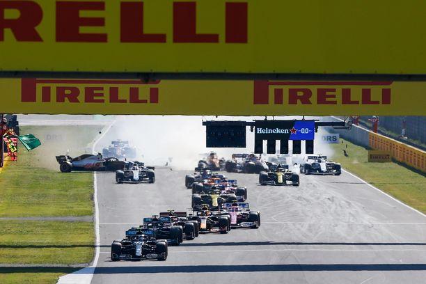Toscanan GP:ssä sattui ja tapahtui.