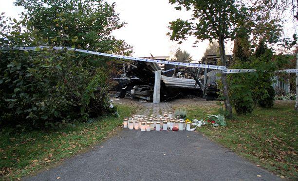 Viime syksynä tapahtuneessa tulipalossa kuoli kaksi lasta.