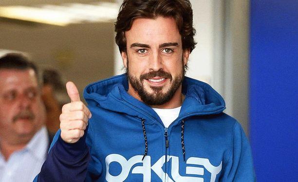 Fernando Alonso on toipunut helmikuussa tapahtuneesta kolarista.