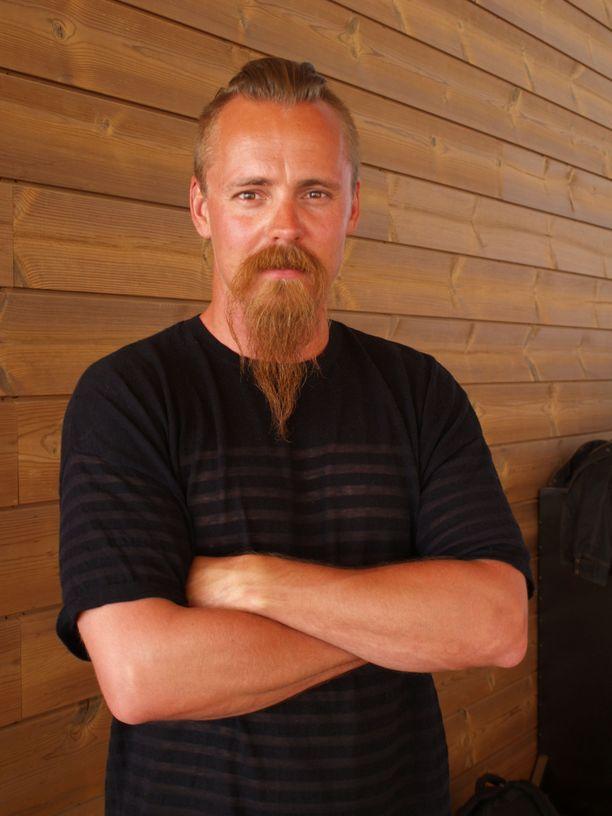Kuvassa Jasper Pääkkönen isännöimässään Löylyssä vuonna 2016.