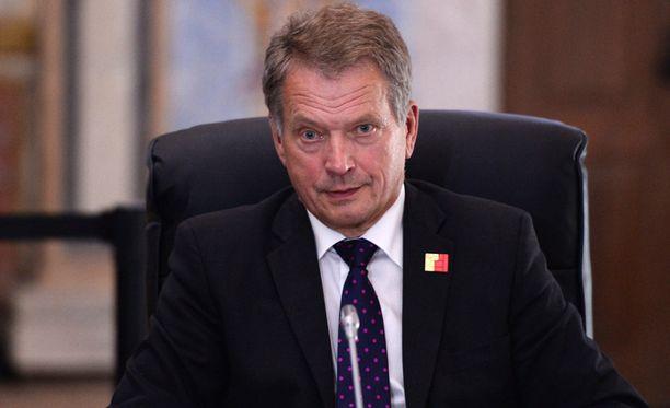 Presidentti Sauli Niinistö väläytti mahdollisuutta rikoslain muuttamisesta.