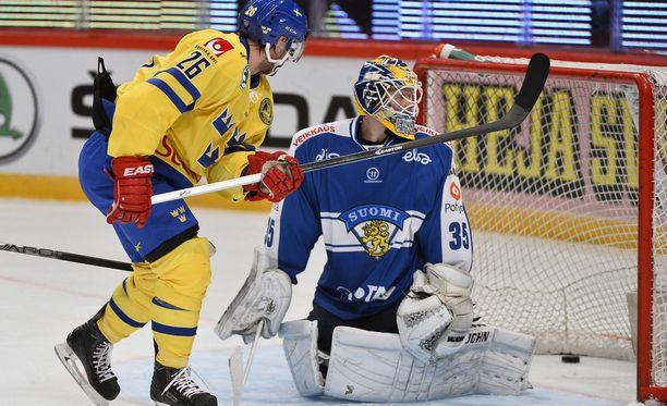 Martin Johansson yllätti Atte Engrenin.