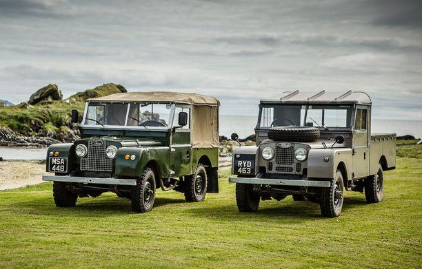 Land Roverin kaappimainen muoto on tuttu kaikkialla tiettömien taipaleiden maailmoissa.