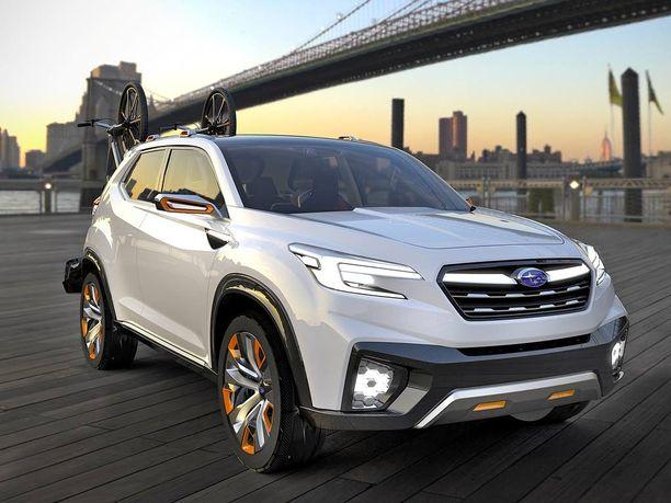 Subaru haluaa esitellä Viviz-konseptillaan tulevaisuuden nelivetoauton olemusta.