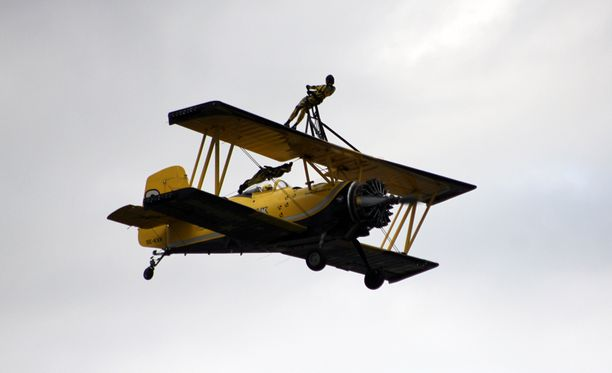 Scandinavian Air Show tarjosi hurjaa menoa.