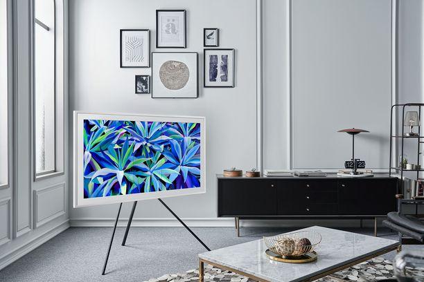 Samsungin lifestyle-televisiot on suunniteltu moderneihin ympäristöihin. Televisio itsessään voi  olla sisustuselementti.