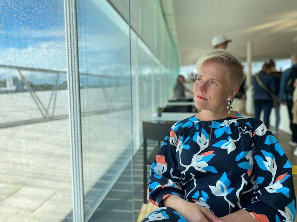 Sanna Wallenius on tehnyt perheensä kanssa automatkoja niin Suomessa kuin ulkomaillakin.