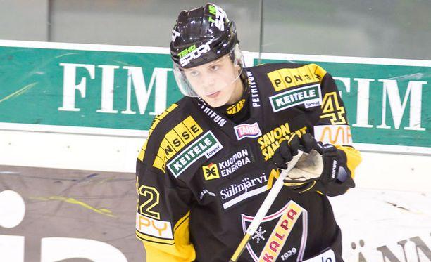Kasperi Kapanen pelasi viime kaudella 47 liigaottelua tehoin 7+7.