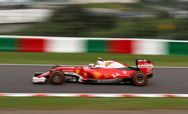 Kimi Räikkösellä kulki paremmin kuin Sebastian Vettelillä.