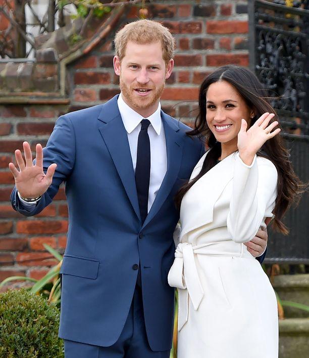 Prinssi Harry ja herttuatar Meghan ovat olleet yhdessä jo kolmisen vuotta.
