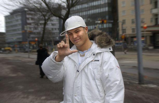 Cheekin tyyliä Helsingin Piritorilla vuonna 2004.