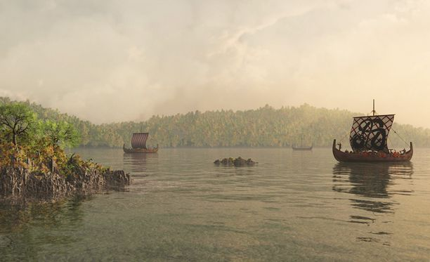 Viikingit tekivät pitkiä matkoja vieraillen niin Pohjois-Amerikassa kuin Aasiassakin. Viikingit olivat tuttu näky myös Suomen rannikolla.