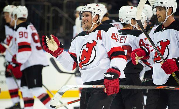New Jersey Devilsin Sami Vatanen on pelannut NHL:ssä vajaat 400 ottelua.