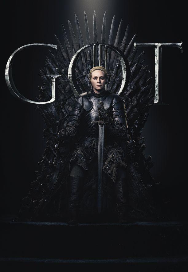 Brienne of Tarth (Gwendoline Christie) nähdään myös Game of Thronesin viimeisellä tuotantokaudella. Brienne on rohkea taistelija. Täytettyään lupauksensa Catelyn Starkille Brienne on uuden edessä.