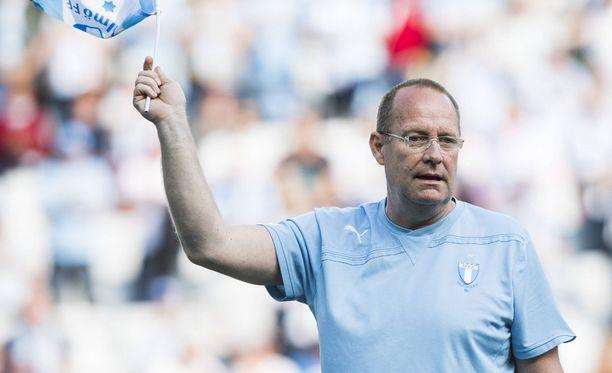 Jalkapallouran päättyminen oli kova paikka 1980-luvun lopussa ja 1990-luvun alussa uransa tehneelle Mats Magnussonille.
