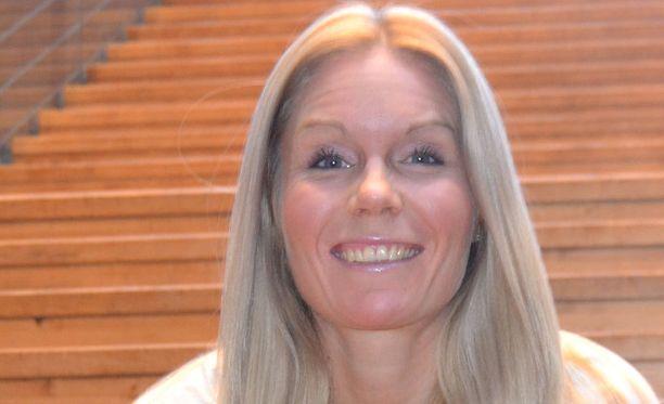 Leena Puotiniemi valmistautuu Lontoon olympialaisiin.