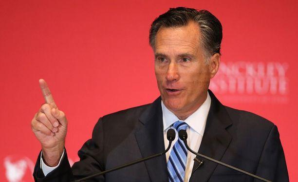 Valitseeko Donald Trump häntä voimakkaasti arvostelleen Mitt Romneyn ulkoministeriksi?