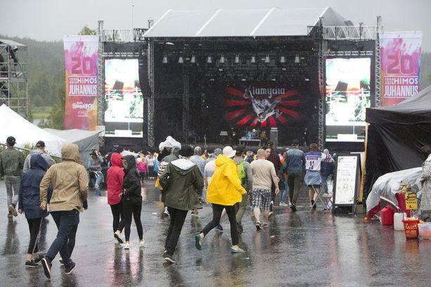 Klamydia esiintyi Himos Juhannus -festivaalin illassa perjantaina.