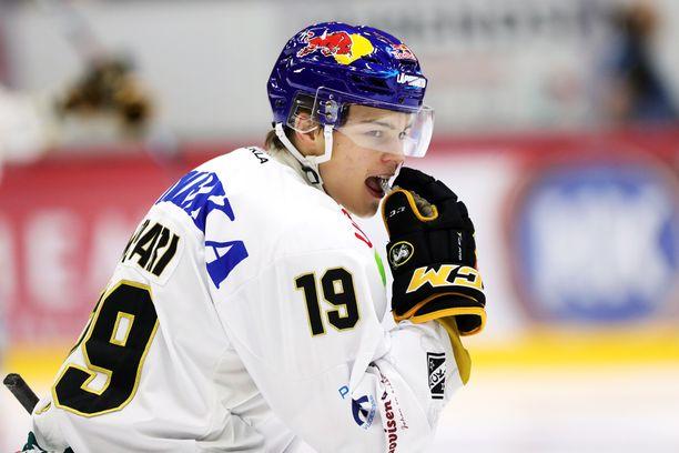 Rasmus Kupari loukkaantui Lahdessa keskiviikkona ja joutuu viikkojen huilitauolle.