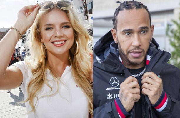 Lotta Hintsa tutustui Lewis Hamiltoniin edesmenneen isänsä kautta. Aki Hintsa oli McLaren-tiimin lääkäri.