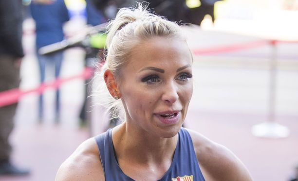 Annimari Korte teki 30-vuotiaana oman ennätyksensä 100 metrin aidoissa.