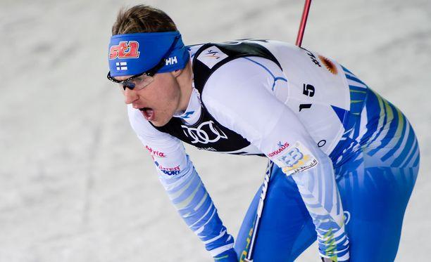 Anssi Pentsinen kuuluu Suomen eturivin hiihtäjiin.
