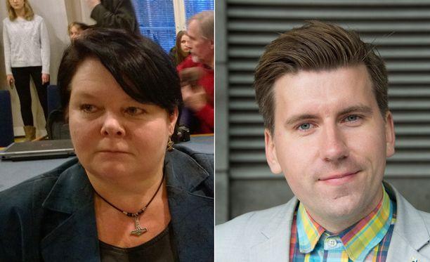 Perussuomalaisten Terhi Kiemunki tuomittiin sakkoihin kiihottamisesta kansanryhmää vastaan ja perussuomalaisten nuorisojärjestön silloinen puheenjohtaja Sebastian Tynkkynen joutuu oikeuteen islam-kirjoituksistaan.