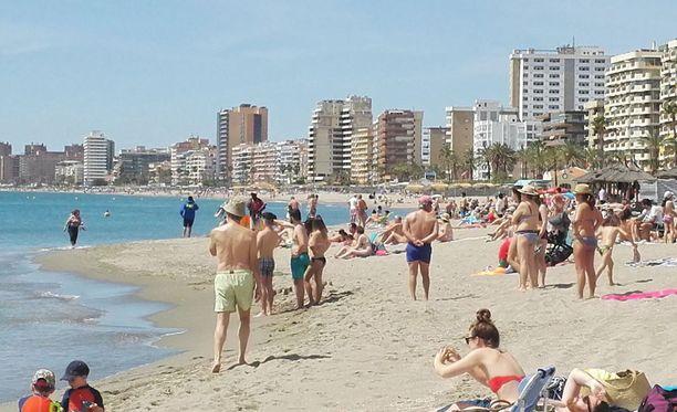 Haihavainnon vuoksi Torreblancan ranta suljettiin eilen muutamien tuntien ajaksi.