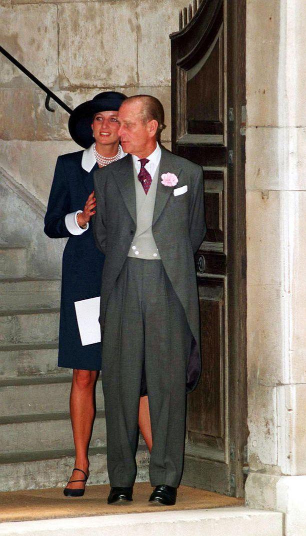 Prinsessa Diana ja prinssi Philip olivat kirjekavereita.