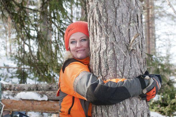 Pirre Nissilä haluaa nähdä metsuritöissä työnsä jäljet.