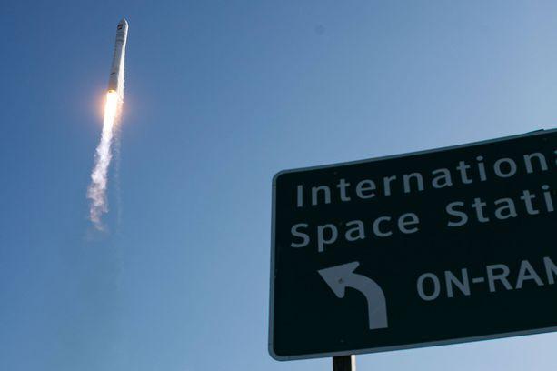 Nasan rahtiraketti lähti kohti Kansainvälistä avaruusasemaa Virginian osavaltiosta huhtikuussa.