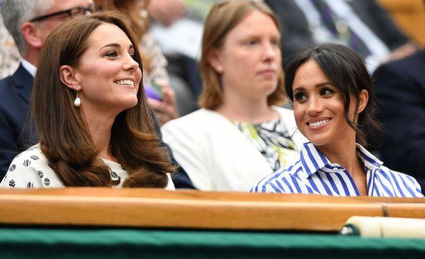 Cambridgen herttuatar Catherine ja Sussexin herttuatar Meghan ovat ystävystyneet.