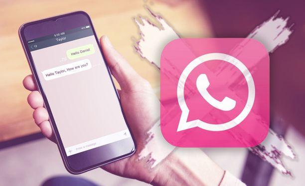 Huijarit kaappaavat puhelimia vale-Whatsappin avulla.