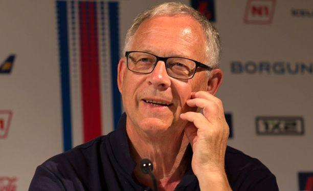 Lars Lagerbäck on jo nimetty Islannin kuninkaaksi.