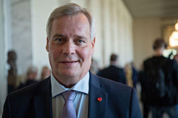 Puheenjohtaja Antti Rinne jäi kolmanneksi SDP:n Uudenmaan piirin jäsenäänestyksessä.
