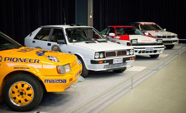 80-lukua: Mazda 323 4WD Turbo, Lancia Delta HF 4WD, Toyota Celica GT-Four ja Mitsubishi Galant VR-4.