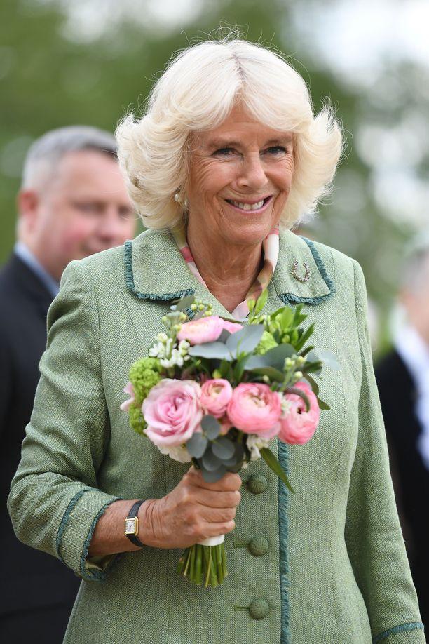 Camilla on pikkukuninkaallisen isoäitipuoli.