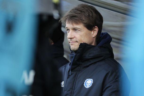 HJK:n päävalmentaja Mika Lehkosuo tarvitsee voiton.
