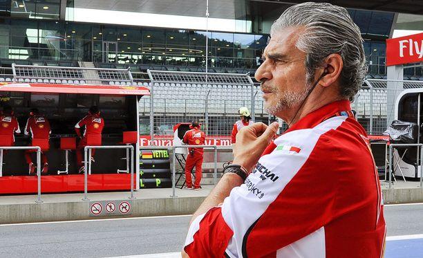 Maurizio Arrivabene linjasi, ettei renkaiden kiinnitysongelma saa toistua.