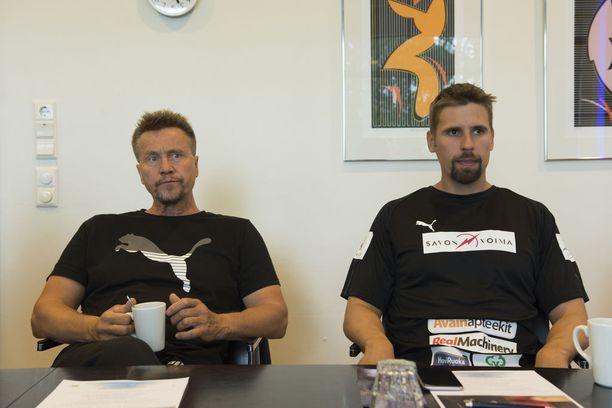 Jyrki Blom valmentaa nykyisin Antti Ruuskasta.