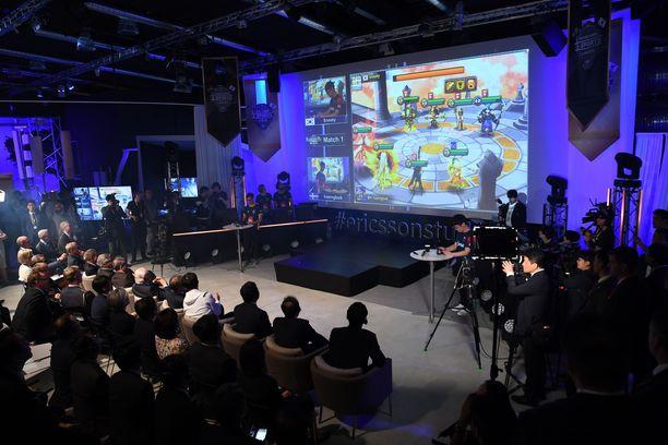 Suomalaiset suhtautuvat varauksella e-urheilua olympialajiksi. Kuvituskuva.
