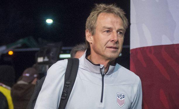 Jürgen Klinsmann ei luotsaa enää jenkkilaumaa.