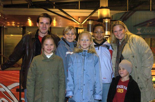 Lignellin koko perhe kuvattuna vuonna 2004.