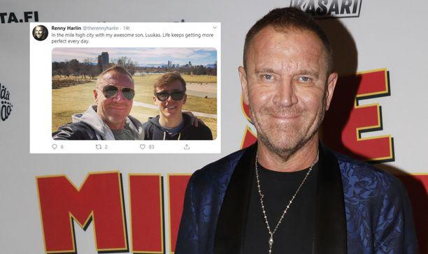Renny Harlin viettää parhaillaan aikaa Yhdysvalloissa poikansa Luukaksen kanssa.
