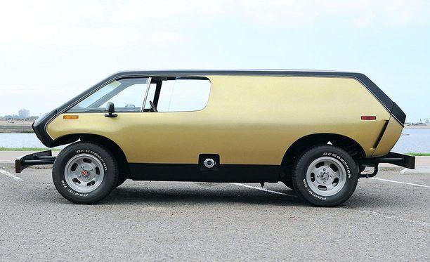 Brubaker Boxia myytiin lähinnä rakennussarjoina. Auto rakennettiin Kupla-Volkkarin rungolle.