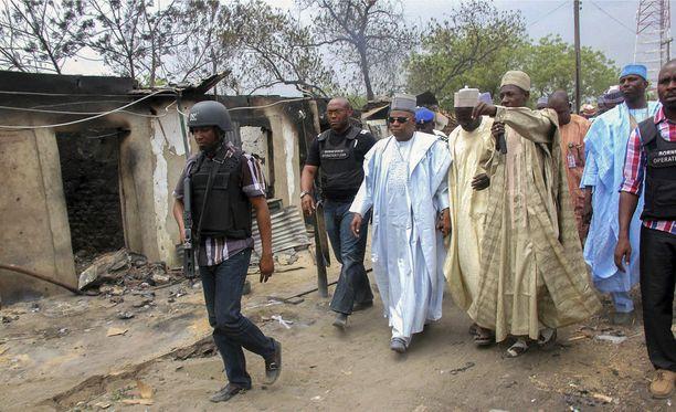 Itsemurhaisku tapahtui Bornon osavaltiossa. Kuvassa Bornon aluetta huhtikuussa 2013.