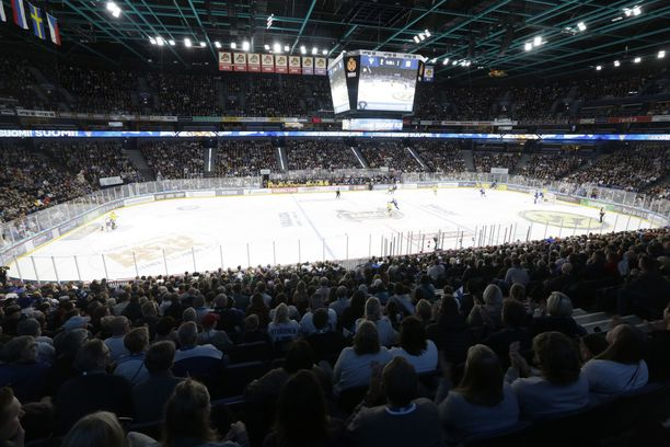 Tällaista määrää yleisöä ei nähdä tämän vuoden Karjala-turnauksessa.