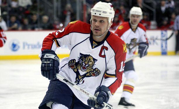 Olli Jokinen nousi Panthers-paidassa seuraikoniksi.