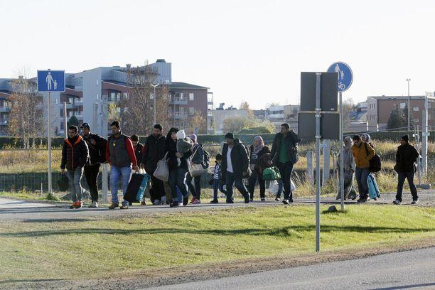 Ruotsiin tuli enemmän turvapaikanhakijoita kuin kaikkiin muihin Pohjoismaihin yhteensä.